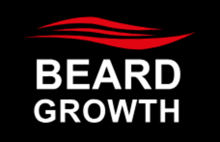 Logo Beard Growth