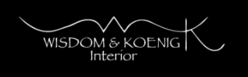 Logo Wisdom and Koenig Interior
